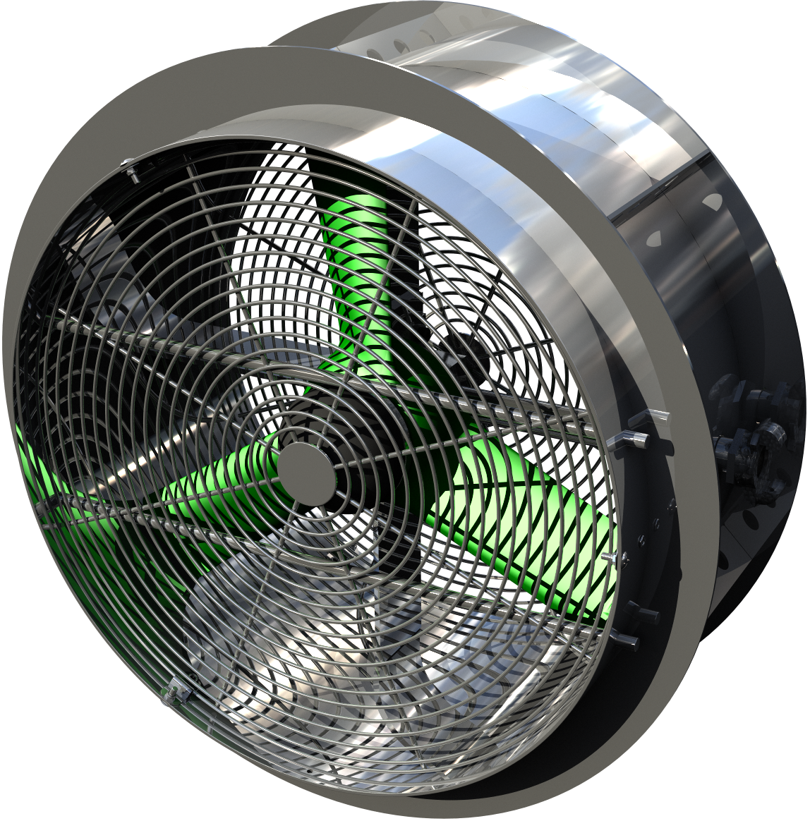 Typhoon 500mm Steel Fan - Clarks Mining Services